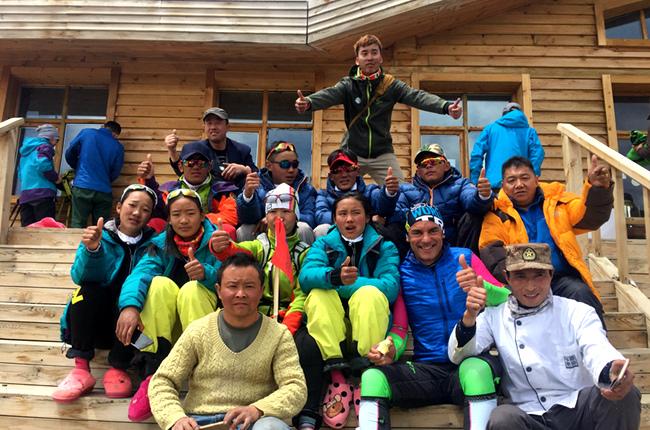 保障赛事 守护雪山——海拔4300米上的后勤保障