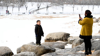 西寧迎來降雪天氣